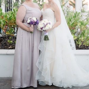 Bridesmaid formal dress (on left in photo)